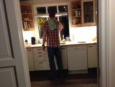 Maskinmesteren i køkkenet